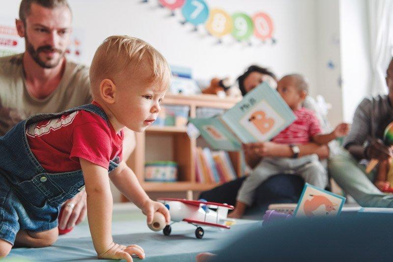 ayuda complementaria de La Fundación para educación infantil
