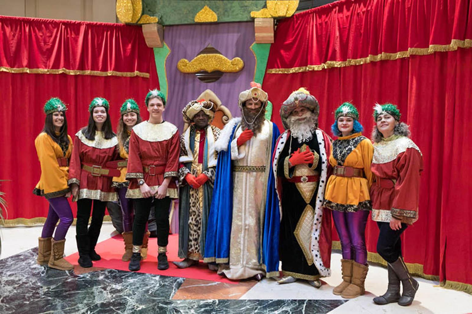Evento de los Reyes Magos de La Fundación San Prudencio.