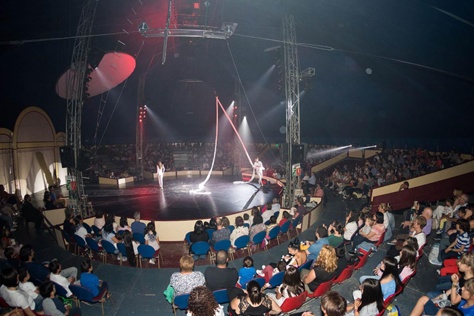Circo La Fundación San Prudencio evento en Vitoria para las familias del colectivo