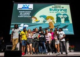 El Langui en evento vitoria de entrega premios familia de La Fundación 2017