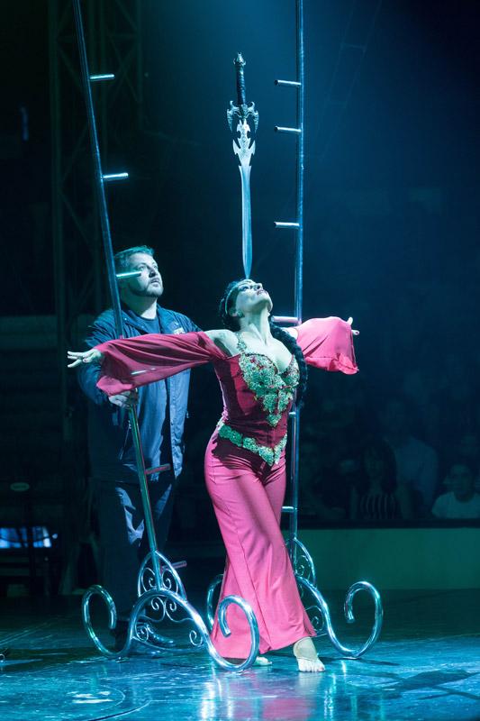 espectáculo Circo de La Fundación San Prudencio en Vitoria-Gasteiz