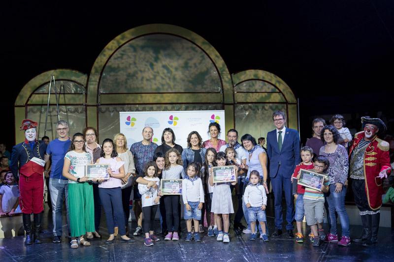 Circo para familias de La Fundación en Vitoria