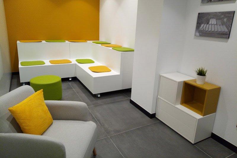 Sala creativa de La Fundación San Prudencio