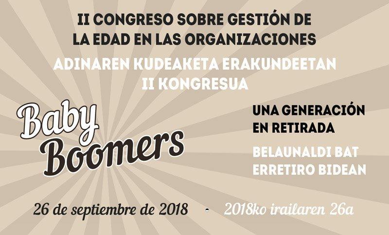 II Congreso sobre la gestión de la edad en las organizaciones de La Fundación San Prudencio en Vitoria-Gasteiz
