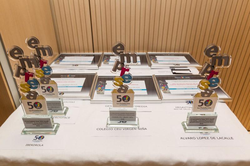 Premios para empresas en Vitoria de Premios Iniciativa Responsable de La Fundación Laboral San Prudencio