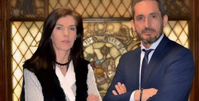 Conchi Anda, Directora Financiera&Compliance y Javier Berasategui, Director General de Fournier