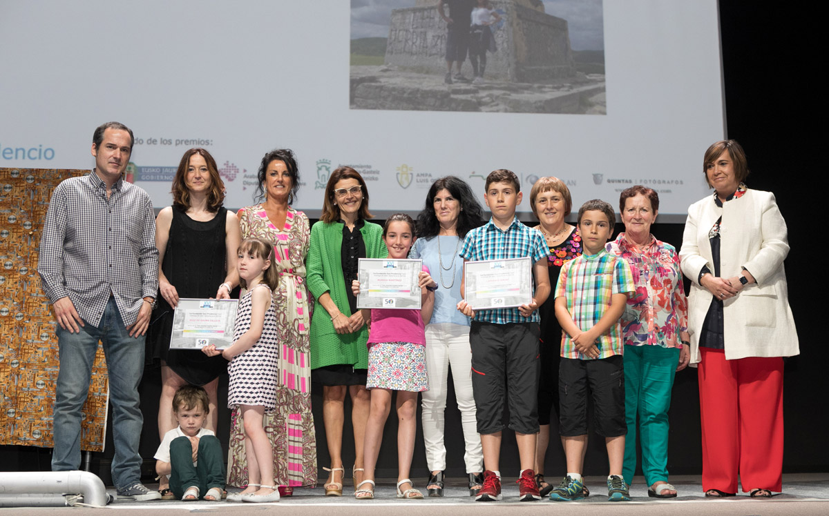 ganadores Premios Familia 2018 evento para familias en Vitoria de La Fundación San Prudencio