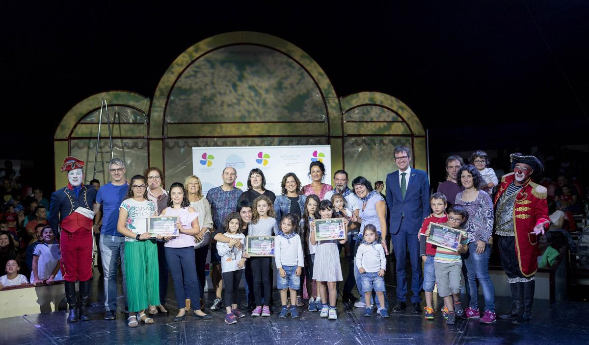 ganadores Premios Familia 2019 evento para familias en Vitoria de La Fundación San Prudencio