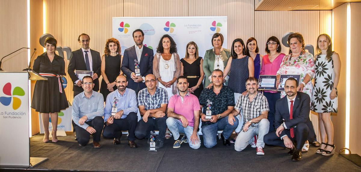 premiados buenas prácticas empresariales 2017 La Fundación San Prudencio