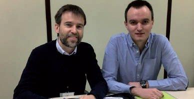 Josu Etxebarria, Presidente de RPK y Sergio Loma, Controller y Responsable de Compliance
