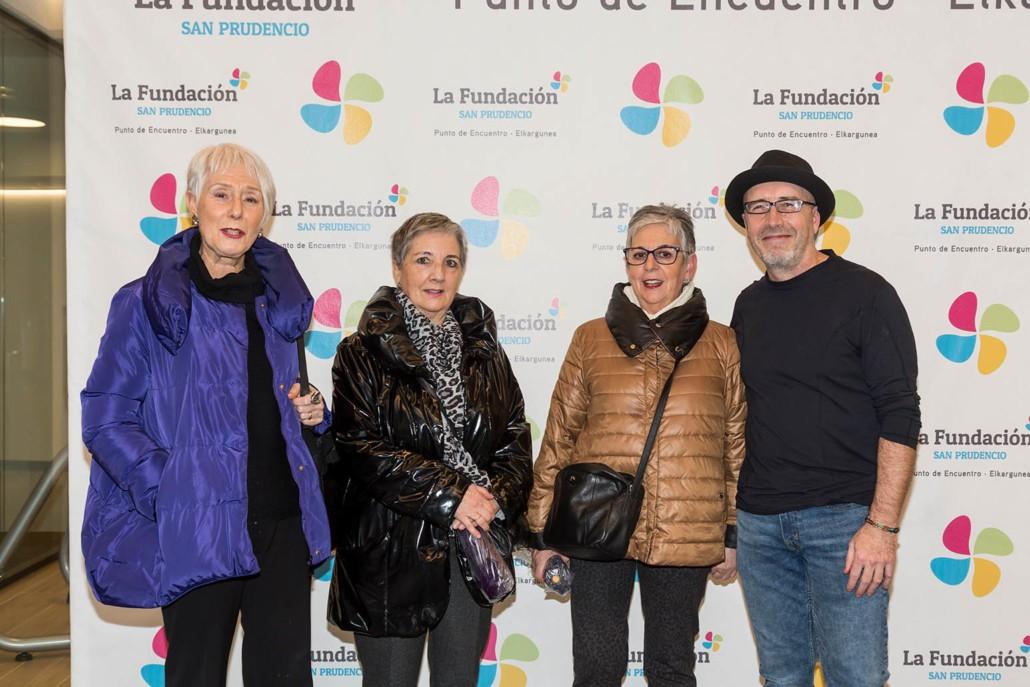 inauguración espacio arte -Fundacion San Prudencio - Vitoria