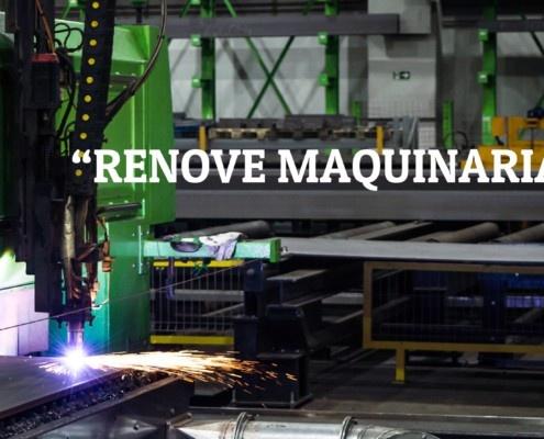 ayuda renove maquinaria
