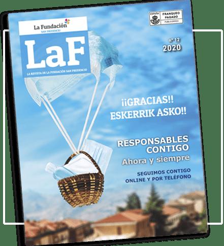 portada revista La Fundación San Prudencio septiembre 2020