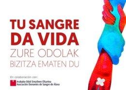 dona sangre con La Fundación San Prudencio