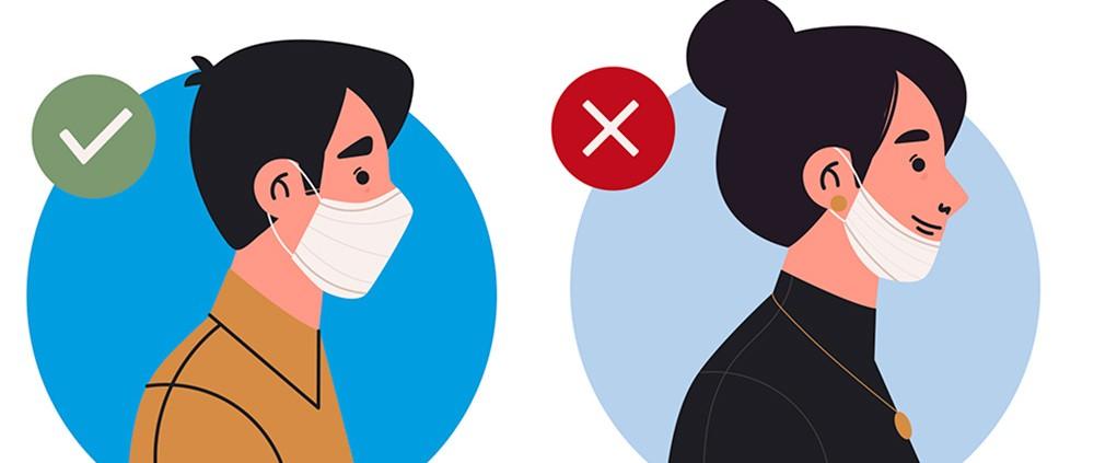 prevención riesgos laborales usos mascarilla
